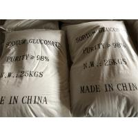 China Cement Admixtures Sodium Gluconate Chelating Agent As Water Reducer on sale