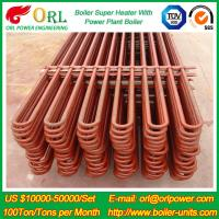 Oil Industry Heating Boiler Steam Super Heater 110 MW Rate Factor Heating