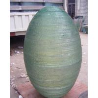Stacked Glass Sculpture For Water Wall / Fountain , Custom Decorative Glass Manufactures