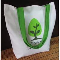 customized eco friendly calico canvas cotton tote bag