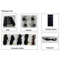 Four - channel DVR Real Time Recording Bird View Parking System , 360 Around View Monitoring System Manufactures