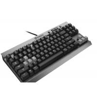 High End Slim Blue Led Mechanical Gaming Keyboard Humanized Design Manufactures