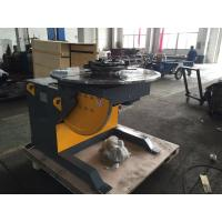 1400mm Table Piping Rotary Welding Positioners With 4 - Jaws Chuck , 2 Ton Rotation Capacity Manufactures
