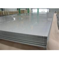 High Strength Stainless Steel Plates JIS SUS 201 , SUS 202 , 2B / BA Finished Manufactures