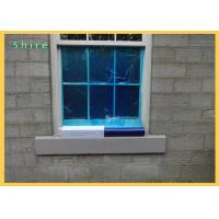 China Transparent / Blue Window Film For Glass Surface Protection Reverse Wound / Standard Wound on sale