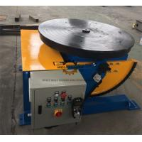 Quality Manually Tube Welding Positioner Auto Stop 900mm Round Slot Table for sale