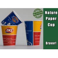 180ml Food Grade Cold Drink Cups Colorful For Frozen Yogurt / Ice Cream Manufactures