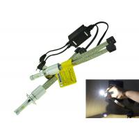 China 30W 3200LM Motorcycle LED Headlight Conversion Kit , H13 LED Headlight Bulbs For Motorcycles on sale