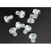 Clear Plastic Phillips Round Head Metric Micro Screws For Electronics M3 X 5 Manufactures