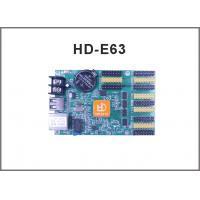 China HD-E63(HD-E41) Ethernet display controller network +USB communication control system for LED display signs on sale