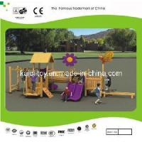 Wooden Series Outdoor Playground Equipment (KQ10153A) Manufactures