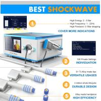 Compressed Air Pneumatic Shockwave Therapy Machine FOR Erectile Dysfunction