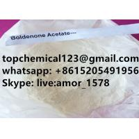 China Boldenone Acetate Anabolic Steroid Powder Reagent Grade For Muscle Building on sale