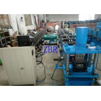 Fully Automatic Strip Profile Purlin Roll Forming Machine With Single Head Decoiler Manufactures