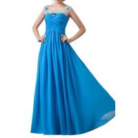 Buy cheap Crystal Dresses Women's A-Line Dreads Long Dress from wholesalers