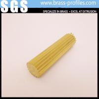 Gear Section Brass Rod Sheet Shining Brass Rod C3800 for Decoration Manufactures