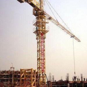 Tower Crane with 10T Maximum Lifting Capacity and 60m Maximum Working Range Manufactures