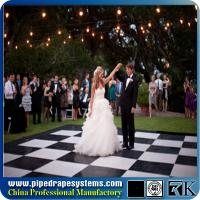 Rk white portable wooden dance floors for wedding polished white oak parquet flooring Manufactures