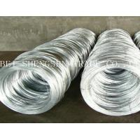 BWG 22 Wire Gauge Galvanized Binding Wire For Bird Cage / Communication Devices Manufactures