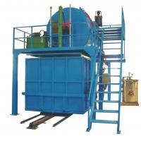 China Automatic Recycled Foam Production Line With Steam Mix Crushed Foam With Glue on sale