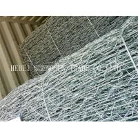 Hot Dipped Galvanized Welded Wire Mesh 3 X 1 X 1m For Water / Soil Protection Manufactures
