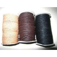 Buy cheap Genuine Weaven Leather Wires of All Sizes and Colors from wholesalers