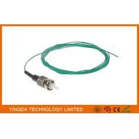 Fiber Optic Pigtail Jumper ST Mulitmode SX 0.9mm Aqua OM3 10 Gigabit Optical Cable Manufactures