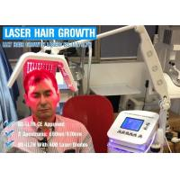 Quality 650nm / 670nm Wavelength Hair Laser Growth Machine Energy Adjustable CE ISO13485 for sale