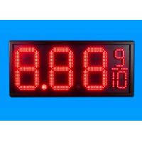 "Hanging 12"" Led Gas Station Signs for Updating Price with Better View Response Manufactures"