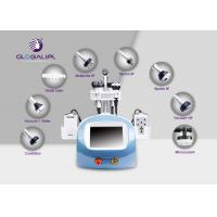 China Cavitation Vacuum Slimming Machine Face Lifting Beauty Device 6 Handles on sale