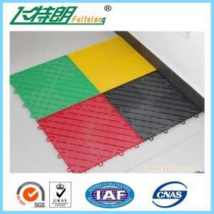 Basketball Court Interlocking Rubber Floor Tiles 304.8×304.8×12.2 mm Manufactures
