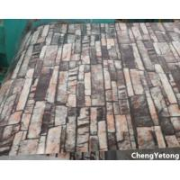 China PVC Film Laminated Color Coated Steel Coil Organic Coating Thickness 20-45μM on sale