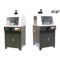 2800rpm Metallographic Sample Abrasive Cutting Machine Controllable Feeding Speed Manufactures