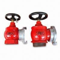 Fire Hydrant Valves with 51/66mm Inlet Interface and 1.6MPa Working Pressure, Made of Cast Iron Manufactures