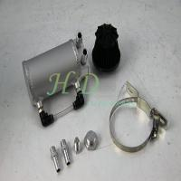 Silver  Reservoir Oil Catch Tank  3mm thickness With Breather Filter Manufactures