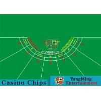 7 Players Roulette Board Layout With Personalized Custom Printing Services Manufactures