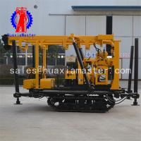 China diesel engine crawler mounted core drilling equipment XYD-130 crawler hydraulic core drilling rig for sale on sale