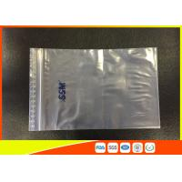OEM Resealable Clear PE Zip Lock Plastic Bags And Top Lip With Eco - Mark Manufactures
