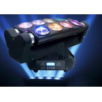 Disco Party DJ Lighting Moving Head Spider Lights Cree LED 8x10W RGBW Multi Color Manufactures