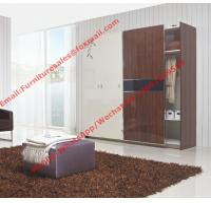 Quality Apartment interior project Custom Furniture Modern Wooden Sliding door Wardrobe closet for sale