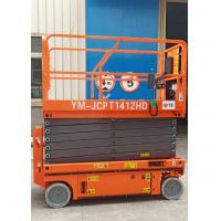 11.8m Hydraulic Scissor Lift Extendable Platform With Pothole Guarding Manufactures