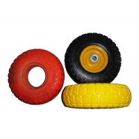 "Low Temperature Resistance 7.5x2"" PU Foam Wheels For Wheelchair Manufactures"