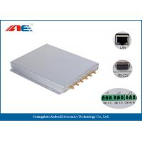 ISO18000-3 Long Range RFID Reader RF Power 1 - 8W With Six Channels Manufactures