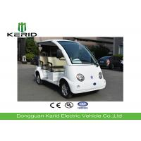 Lightweight Electric Four Passenger Golf Cart , Tourists 4 Seater Electric Car Manufactures