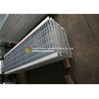 Angle Bar Welded Steel Grating , Reinforced Concrete Areas Heavy Duty Bar Grating Manufactures