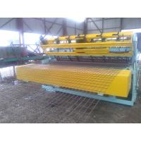 Construction Reinforced Mesh Welding Machine , Automatic Wire Net Making Machine Manufactures