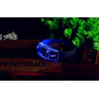 High Transparency Led Flashing Bracelet Silicone For Holidays Manufactures