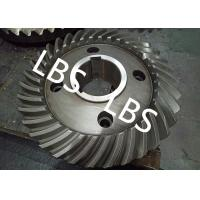 Steel Spiral Bevel Double Helical Gear Shaft Polishing Anodic Oxidation Manufactures