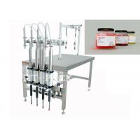 China Beverage / Food / Medical Semi-Automatic Filling Machine with Pneumatic Driven on sale