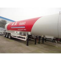 China factory sale best price CLW 3 axle LPG Semi Trailer 25 ton 59520 Liters, 2017s new cheaper price lpg gas tank trailer on sale